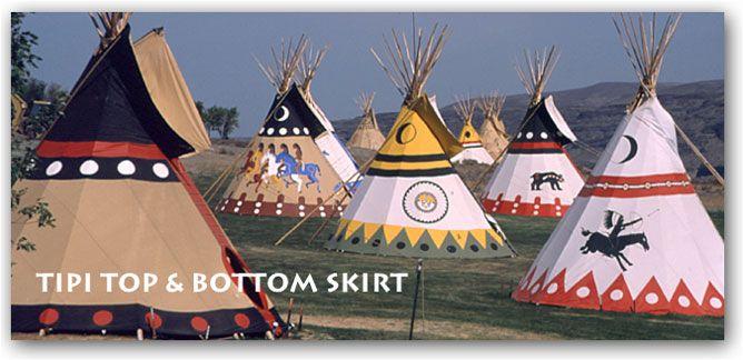 teepee skirt designs - Nomadics Tipis