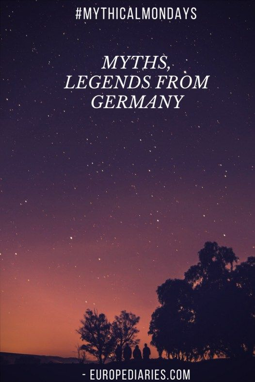 Myths and Legends from Germany-europediaries.com