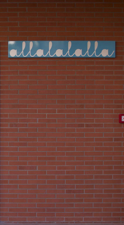 ALLALALALLA (22x140,6÷2,5cm) Roberto Remi 2015.  Soroptimist International (Club di Mantova) per CAV.