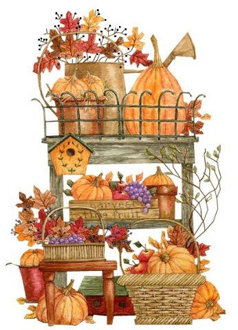 .Fall painting by Diane Knott