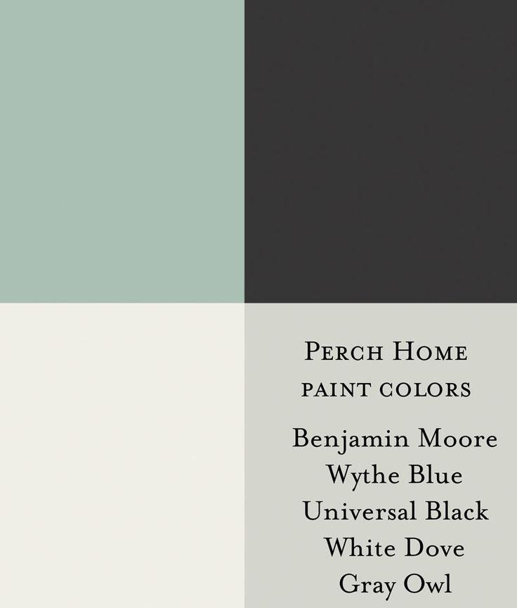 Benjamin Moore Exterior Paint Palette