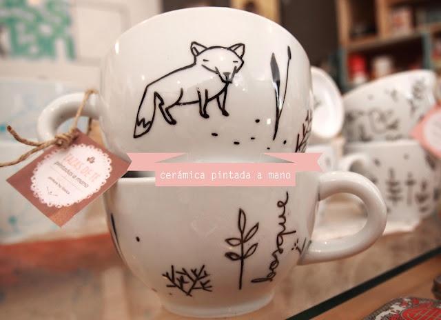 Hand painted ceramic  Ceramica pintada a mano