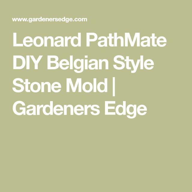 Leonard PathMate DIY Belgian Style Stone Mold | Gardeners Edge