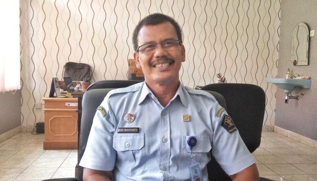 Adi Wahyarto, Kabag Umum Kanwilkumham Bangka Belitung. (Rama/ Klikbabel.com)