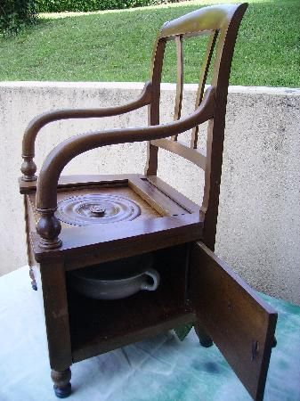 Fancy Antique Toilets from The Past