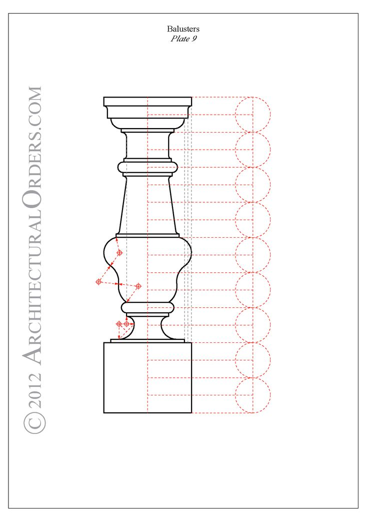 Baluster's construction