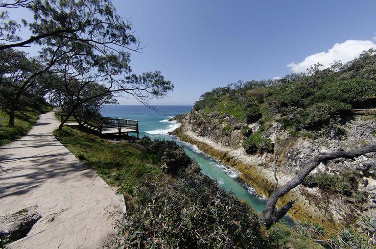 The gorge walk, Point Lookout. Stradbroke island. Qld. Australia