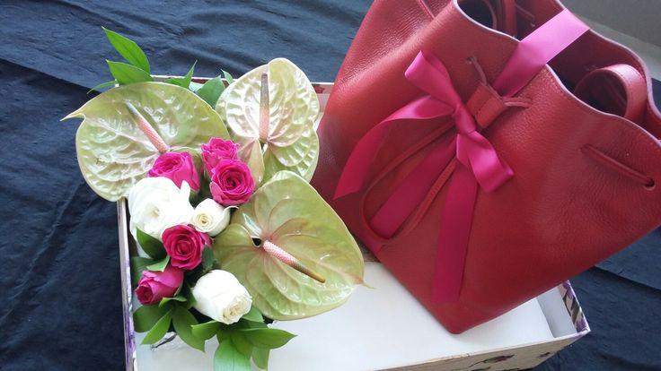 Seserahan tas purotti untuk Aretha #hantaran