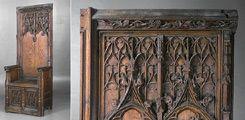 Chaire gothique de la Nation Picarde - Musée National du Moyen-Age, Thermes de Cluny - Paris (France)