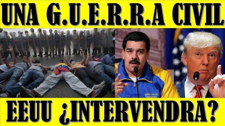 ultimo minuto VENEZUELA EEUU 24 FEBRERO 2018||Si VENEZUELA Cae en Lucha CIVIL EEUU INTERVENDRIA