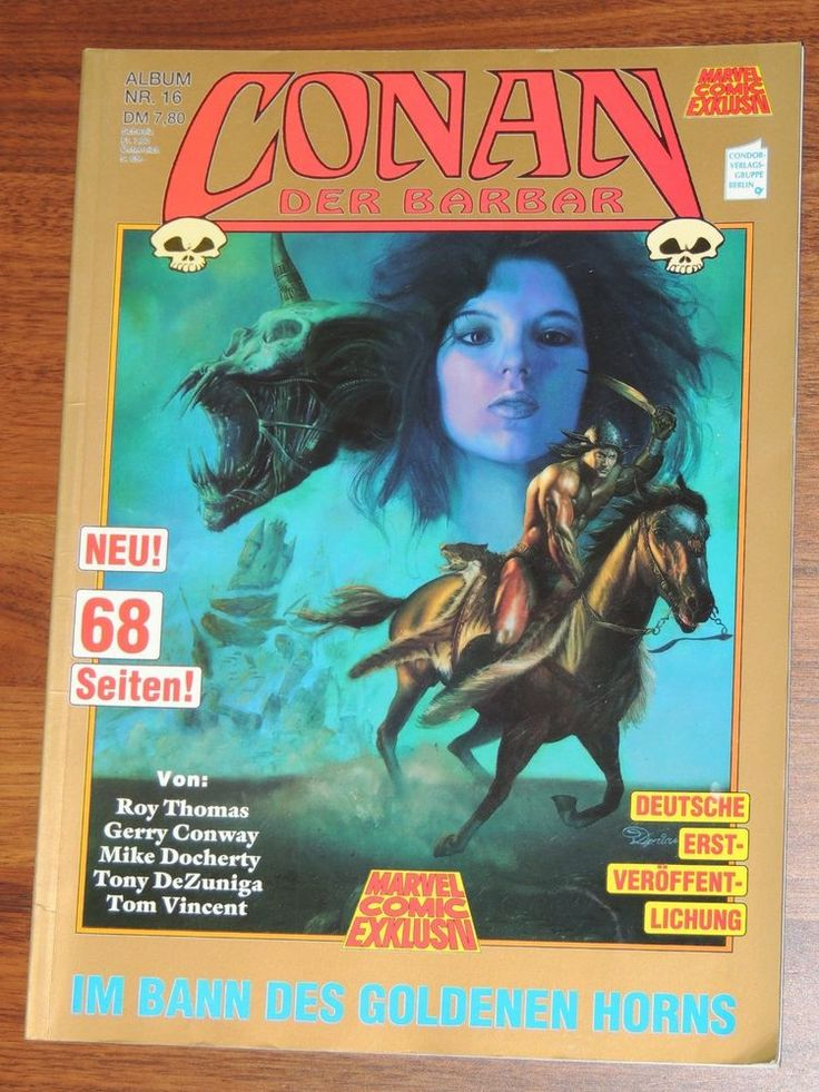 Marvel Comic Exklusiv #16 Conan der Barbar Im Bann des goldenen Horns (Condor)