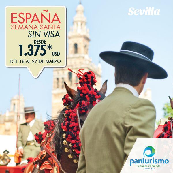 En esta Semana Santa visita España, un fantástico país lleno de magia e historia. Más información en Cali al 668 2255 y en Bogotá al 606 9779. www.panturismo.com