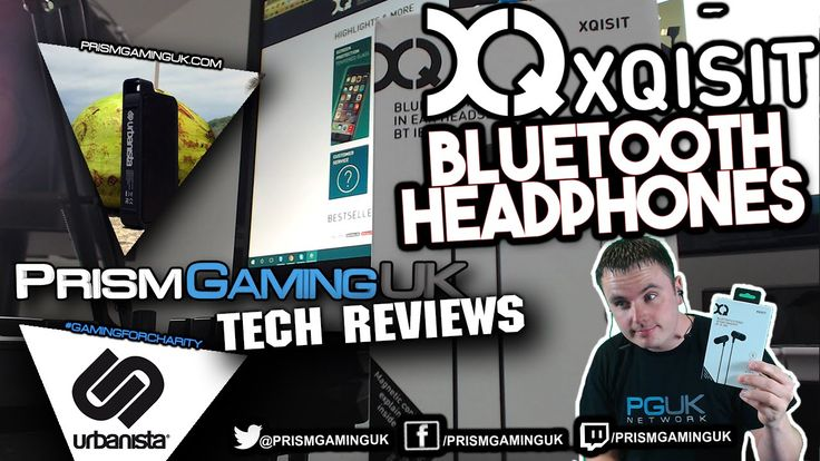 Xqisit Magnet Bluetooth Headset Review BT iE200
