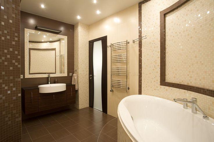 В современном доме все должно быть прекрасно и гармонично, включая санузел. #санузел #ванная #ваннаякомната #дизайнванной #проектванной #обустройствованной