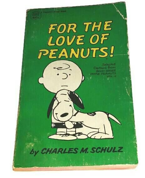 Check out this item in my Etsy shop https://www.etsy.com/ca/listing/571282892/rare-vintage-peanuts-book-for-the-love
