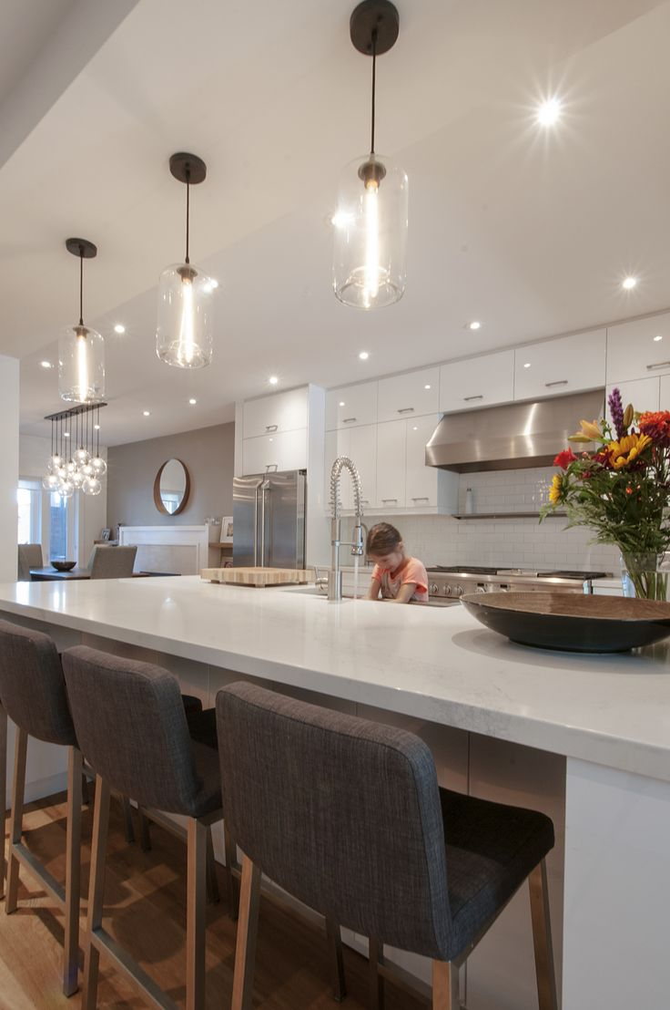Modern Rustic Makeover. Customized Ikea kitchen cabinets with Caesarstone counter. Sandra Brzezinski Photography.