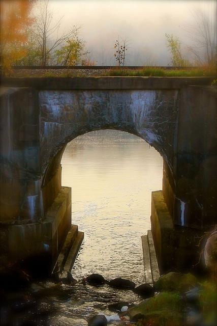 Fall Bridge, Bangor, Maine