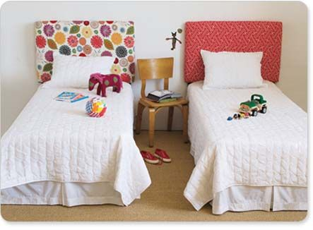 Make Your Own Fabric Covered Headboards!