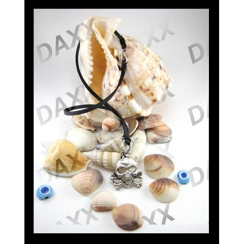Daxx kurukafa, gümüş kaplama, unisex deri kolye ürünü, özellikleri ve en uygun fiyatların11.com'da! Daxx kurukafa, gümüş kaplama, unisex deri kolye, taşsız kolye kategorisinde! 51397007