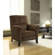 Elran H0202 Reclining Chair in Dark Brown Fabric Product Image