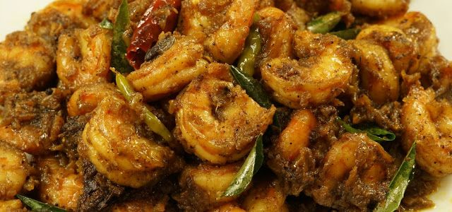 Pepper Prawns Fry Recipe