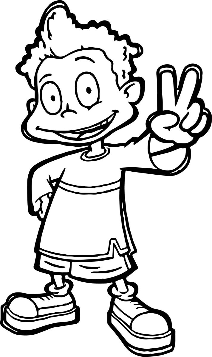 Pin By Miranda Springer On Svg In 2021 Coloring Pages Rugrats All Grown Up Rugrats