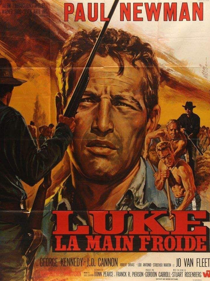 Cool Hand Luke 1967 Cool Hand Luke Movie Posters Paul Newman