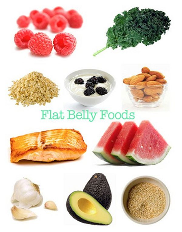 flat belly foods. yes!