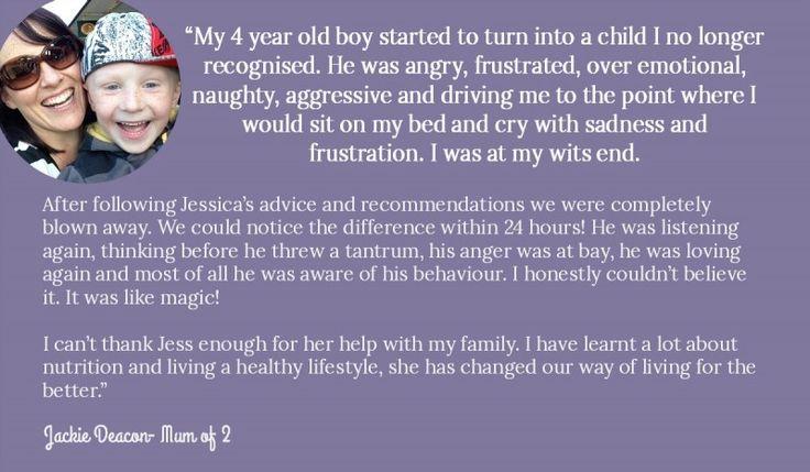 Jackie Deacon testimonial