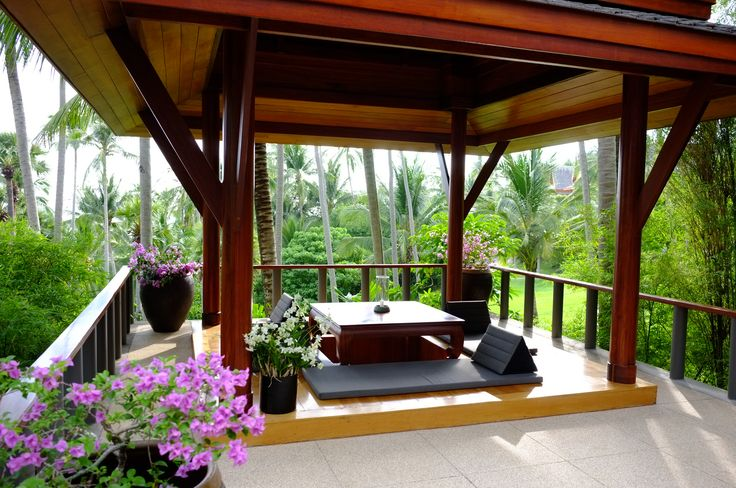 amanpuri villa living sala