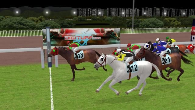 Madremonte holds off a late challenge from Ray of Domination to win at the 2400 Hong Kong circuit.