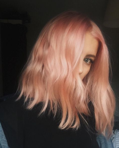 "Results vary depending on how much of each color you apply, including if you choose to add in some pink. | 16 Pics That Prove That ""Blorange"" Hair Is Exactly What You Need In 2017"