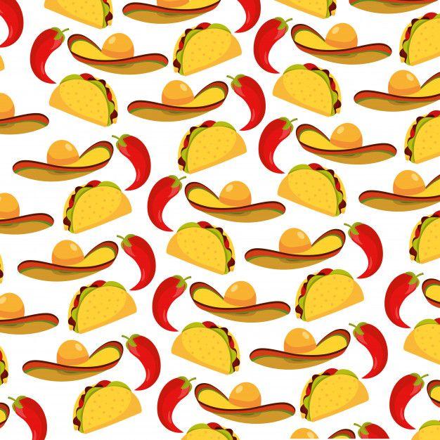 Delicious Mexican Food Cartoon Food Cartoon Mexican Food Recipes Mexican