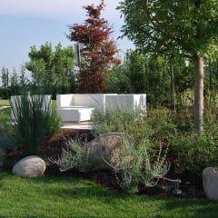CORTE DEL PAGGIO: Giardino in stile in stile Moderno di Lugo - Architettura del Paesaggio e Progettazione Giardini