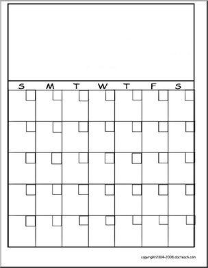 Blank Calendar: Blank Calendars