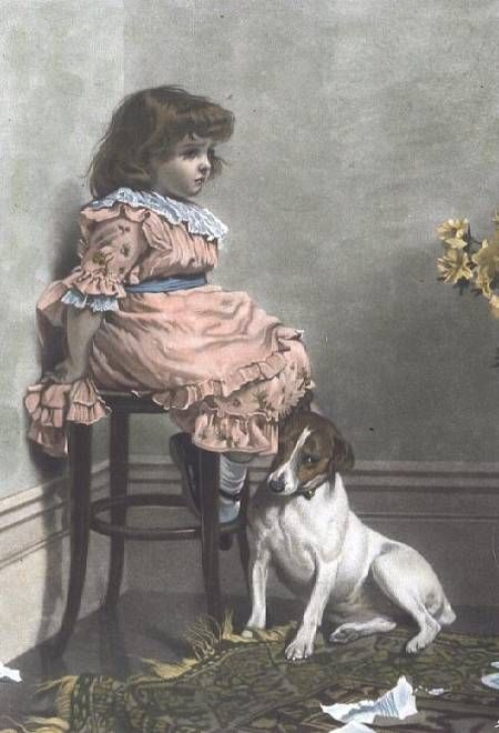 Charles Burton Barber (1845 – 1894, English)
