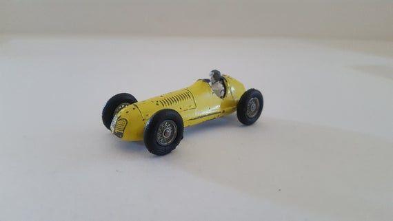 Vintage Streichholzschachtel Nr. 52 Maserati 4CLT / 1948, gelbes Stück, hergestellt in England von Lesney   – Products