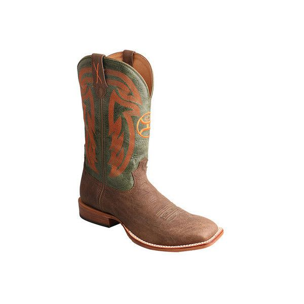 Men's Twisted X Boots MHY0021 Hooey Cowboy Boot ($270) ❤ liked on Polyvore featuring men's fashion, men's shoes, men's boots, casual, cowboy boots, mens boots, mens tall boots, mens shoes, mens twisted x boots and mens western shoes