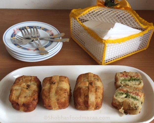 Shobha's Food Mazaa: POTATO PARCELS