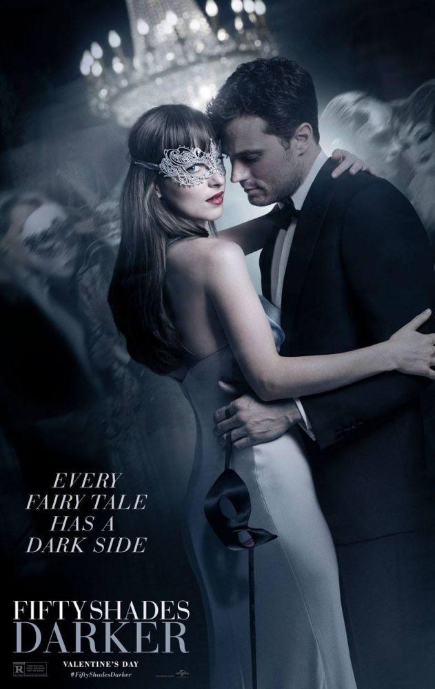 Jamie Dornan e Dakota Johnson retornam como Christian Grey e Anastasia Steele em 'Cinquenta Tons Mais Escuros', o segundo capítulo baseado no