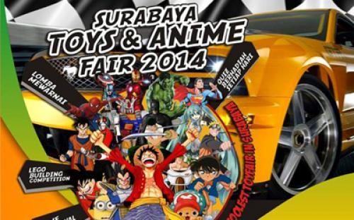 SURABAYA - kapan lagi kamu bisa nikmatin liburan yang se asyik ini kalau tidak di Surabaya, buat yang suka sama dunia anime, coba saja kunjungi Surabaya Toys & Anime Fair 2014 berikut ini karna dalam acara ini akan ada banyak kompetisi mulai dari lomba mewarnai sampai dengan Festival Cosplay. Selengkapnya --> http://agendakota.co.id/read/3394//surabaya+toys+%26+anime+fair+2014.html