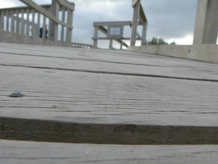 Boardwalk at the Carpenter Rocks Lighthouse!!