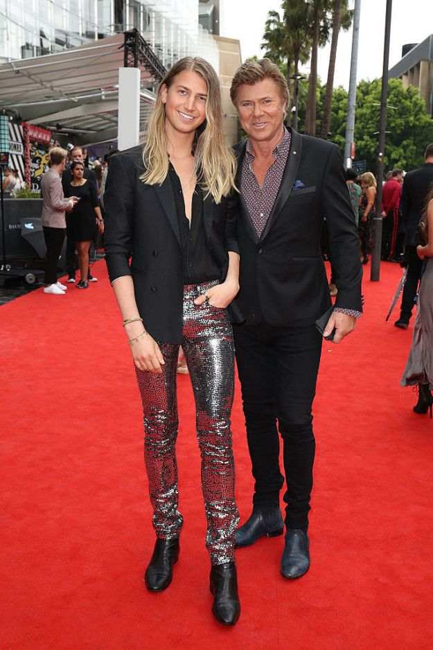 Christian Wilkins and Richard Wilkins | Here Are All The Red Carpet Looks From The 2016 Aria Awards