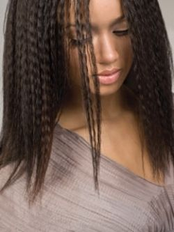 Crimped Hairstyle Ideas - Crimped hairstyles have been very popular in the '80 and now, since the '80's are back, crimped hair is again a good hair styling option. Here are some trendy crimped hairstyle ideas.