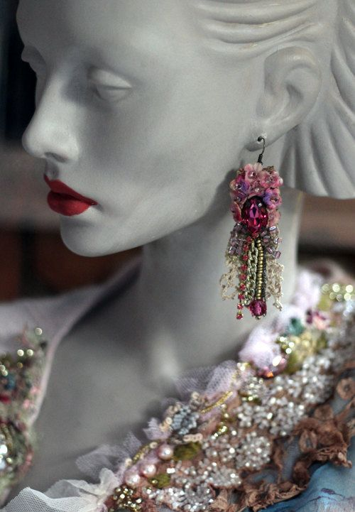 Belle epoque romantic lightweight bohemian by FleursBoheme on Etsy