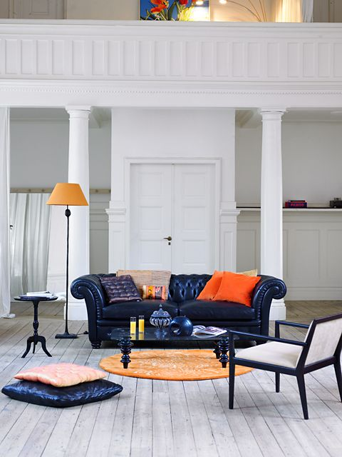Wall Colour Inspiration: 66 Best Images About Classic Sofas And Chesterfields On