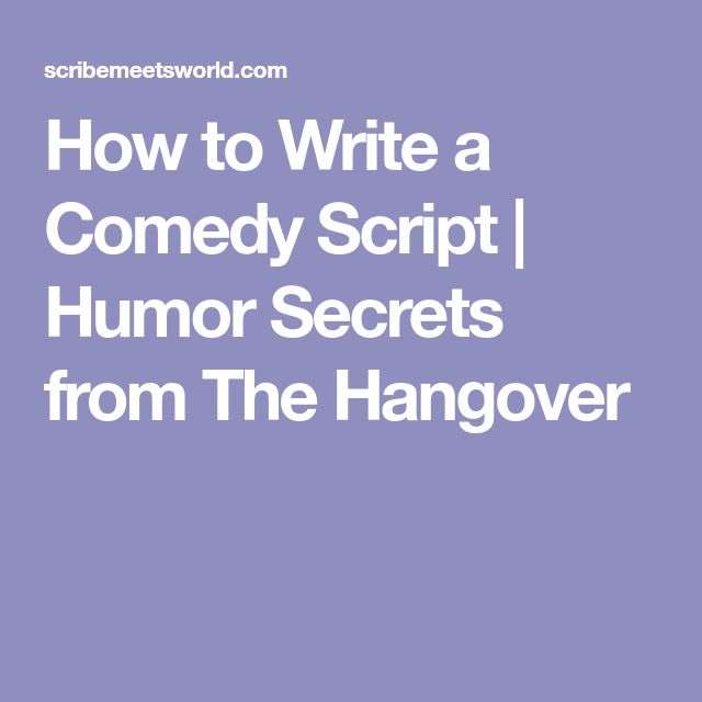 "how to write comedy By jonas polsky a stand up comedy routine is made up of several parts a comedy routine or ""act"" is the entire performance from start to finish."