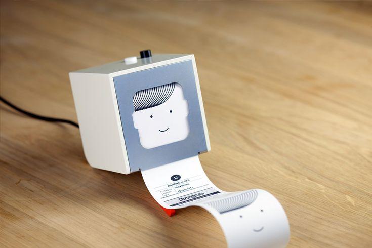 Little Printer makes the virtual physical, reaches a Pixar-level of cuteness.