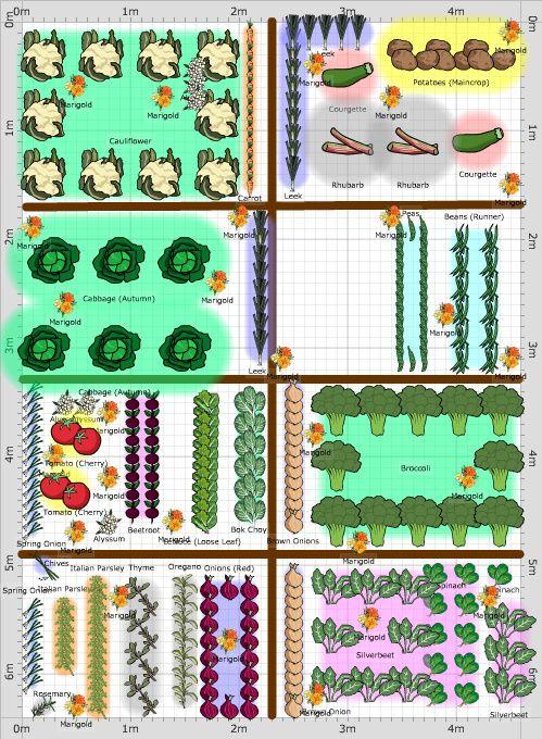 Garden Plan - 2013: Lucys Vege Garden