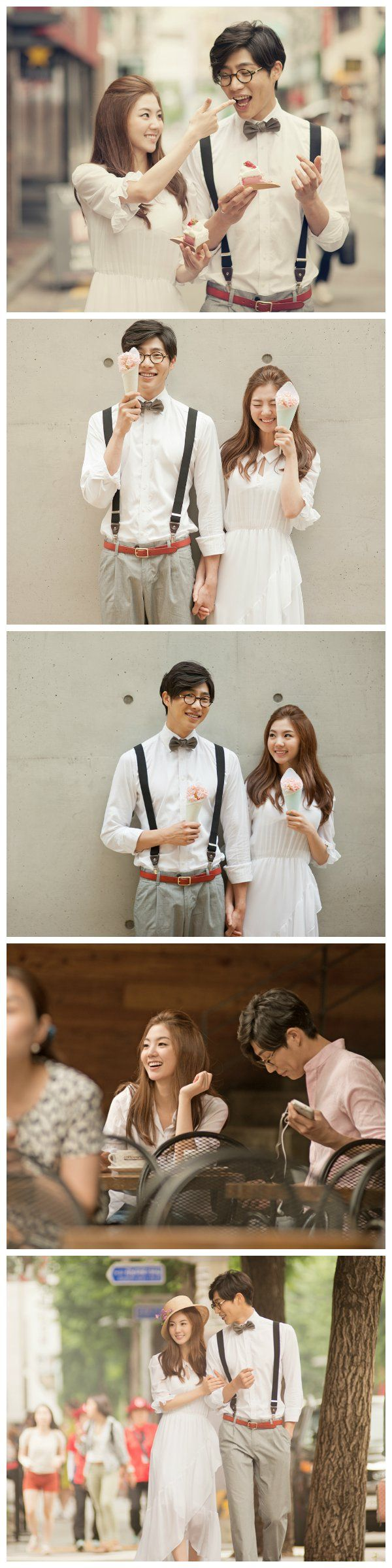 Cafe dating in Seoul. Casual Korean prewedding shoot | May Studio on…